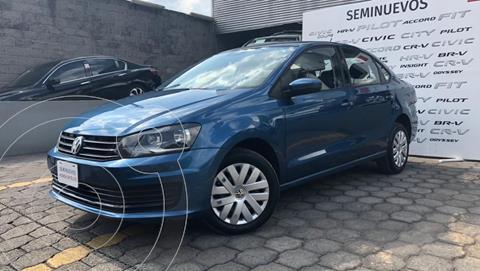 Volkswagen Vento Startline usado (2018) color Azul Acero precio $185,000
