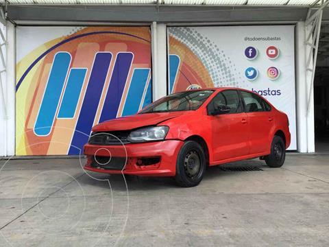 Volkswagen Vento Startline usado (2018) color Rojo precio $98,000