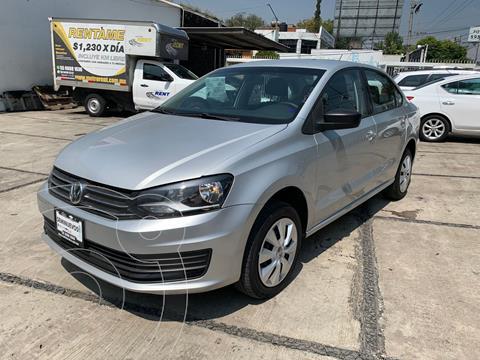 Volkswagen Vento Startline Aut usado (2020) color Plata Dorado precio $209,000