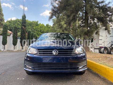Volkswagen Vento Startline usado (2017) color Azul Noche precio $130,000