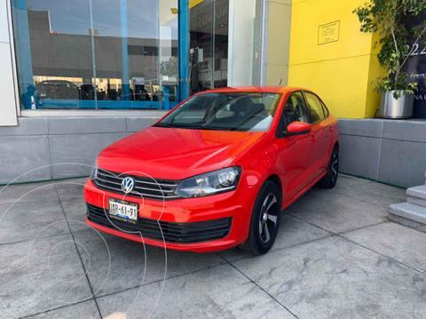Volkswagen Vento Startline usado (2017) color Rojo precio $167,000