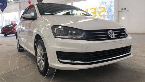 Volkswagen Vento Comfortline Aut usado (2019) color Blanco Candy financiado en mensualidades(enganche $60,342 mensualidades desde $4,285)