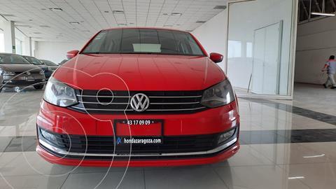 Volkswagen Vento Highline usado (2017) color Rojo precio $170,166
