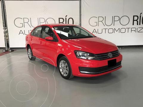 Volkswagen Vento Comfortline usado (2017) color Rojo precio $155,000