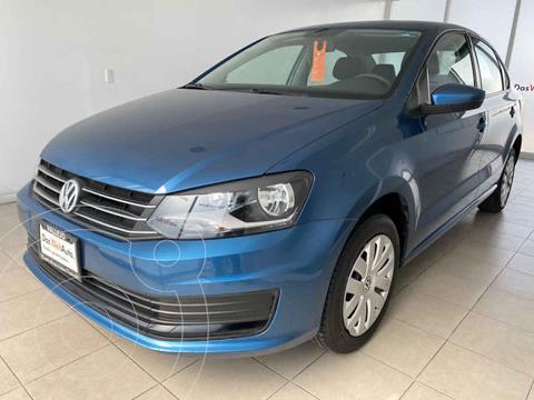 Volkswagen Vento Startline usado (2018) color Azul precio $175,000