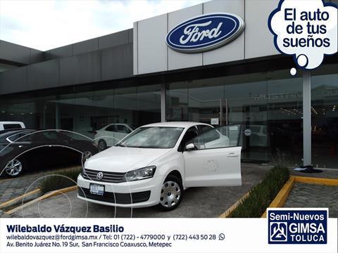 Volkswagen Vento STARTLINE STD usado (2018) color Blanco precio $159,001