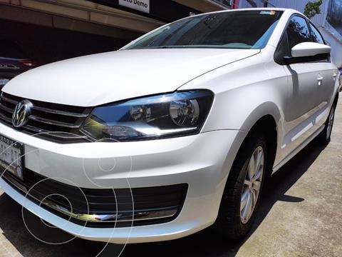 Volkswagen Vento COMFORTLINE 1.6L L4 105HP MT usado (2018) color Blanco precio $185,000