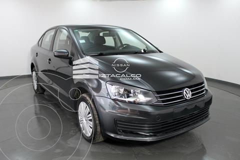 Volkswagen Vento Startline Aut usado (2020) color Gris Oscuro precio $209,000
