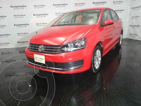 Volkswagen Vento Comfortline usado (2020) color Rojo precio $229,990