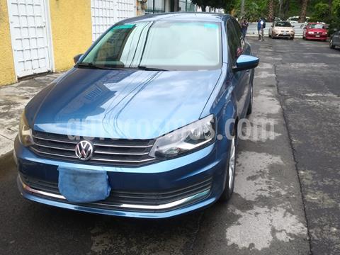 Volkswagen Vento Comfortline Aut usado (2018) color Azul Noche precio $174,900