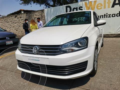 Volkswagen Vento STARTLINE 1.6L L4 105HP TIP usado (2018) color Blanco precio $175,000