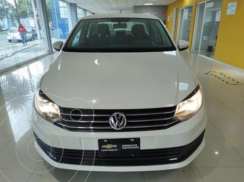 Volkswagen Vento Startline Aut usado (2018) color Blanco precio $179,900