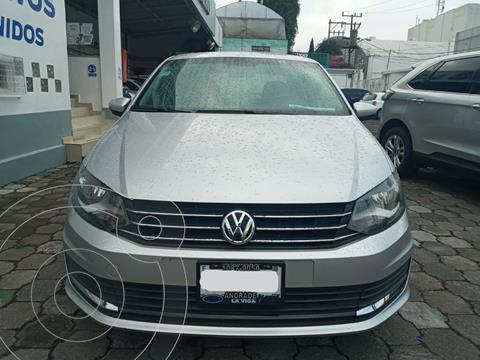 Volkswagen Vento Comfortline usado (2017) color Plata Dorado precio $149,000