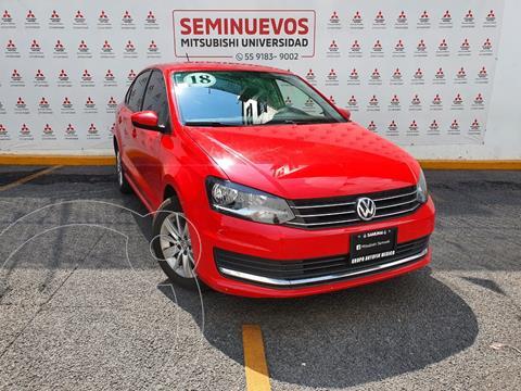 Volkswagen Vento Comfortline Tiptronic usado (2018) color Rojo precio $180,000