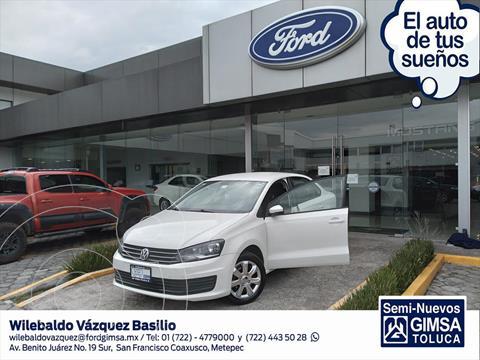 Volkswagen Vento STARTLINE STD usado (2018) color Blanco precio $159,000
