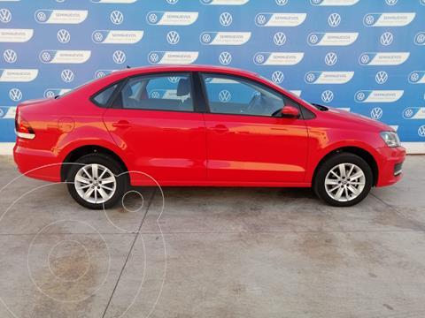 Volkswagen Vento COMFORTLINE 1.6L L4 105HP TIP usado (2020) color Rojo precio $249,900