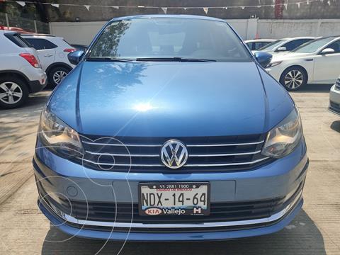 Volkswagen Vento Highline usado (2018) color Azul precio $190,000