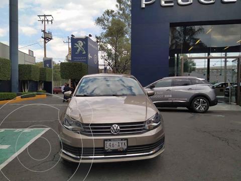 Volkswagen Vento Comfortline Aut usado (2019) color Cafe precio $189,900