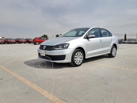 Volkswagen Vento Startline Aut usado (2019) color Plata Dorado precio $178,000