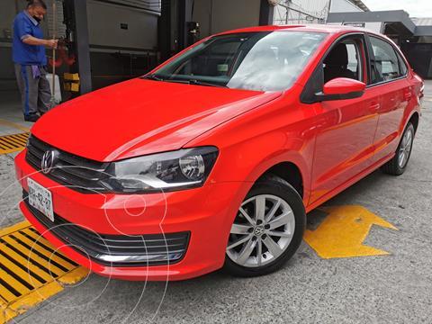 Volkswagen Vento Comfortline Aut usado (2017) color Rojo Flash precio $180,000