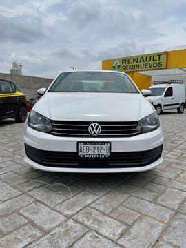 Volkswagen Vento 4 pts. Starline, TM5, a/ac., R-15 usado (2019) color Blanco precio $199,000