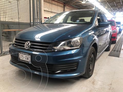 Volkswagen Vento Startline usado (2018) color Azul Noche precio $190,000