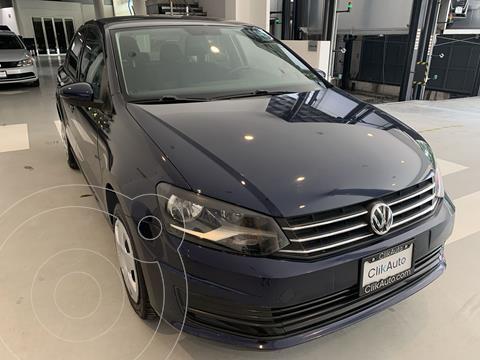 Volkswagen Vento Startline Aut usado (2016) color Azul precio $172,000