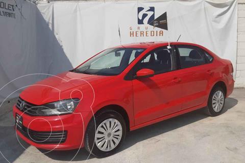 Volkswagen Vento Startline Aut usado (2020) color Rojo precio $205,000