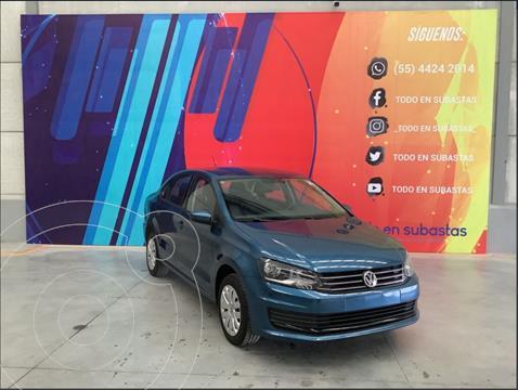 Volkswagen Vento Startline Aut usado (2019) color Azul precio $120,000