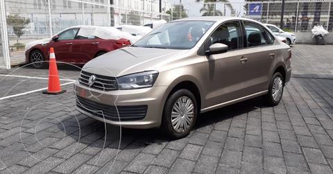 Volkswagen Vento Startline Aut usado (2020) color Cafe precio $204,900