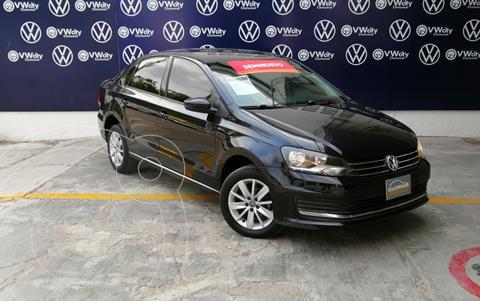 Volkswagen Vento Comfortline usado (2017) color Negro precio $175,000