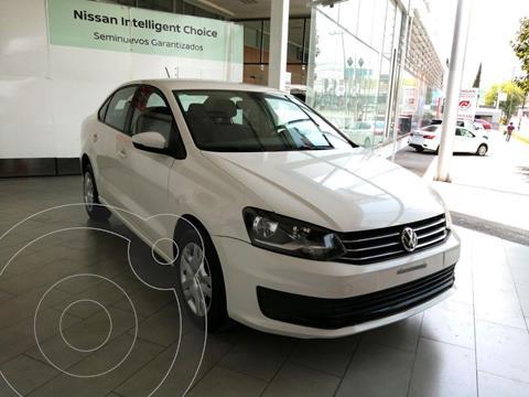 Volkswagen Vento Startline Aut usado (2018) color Blanco precio $175,900