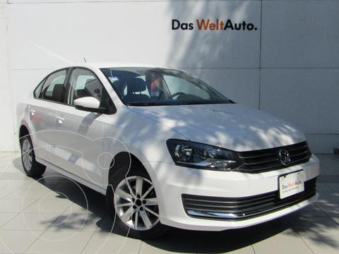 Volkswagen Vento Comfortline Aut usado (2018) color Blanco Candy precio $195,000