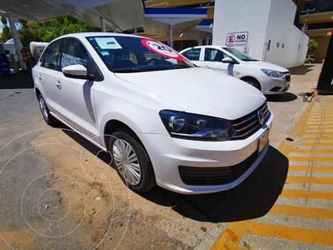 Volkswagen Vento Startline usado (2020) color Blanco precio $220,000