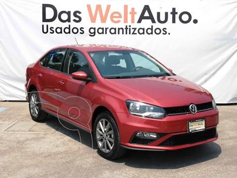Volkswagen Vento Comfortline Plus Aut usado (2020) color Rojo precio $285,000