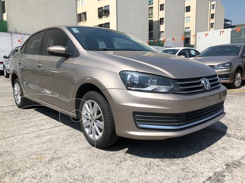 Volkswagen Vento Comfortline usado (2018) color Beige Metalico financiado en mensualidades(enganche $54,500 mensualidades desde $5,206)