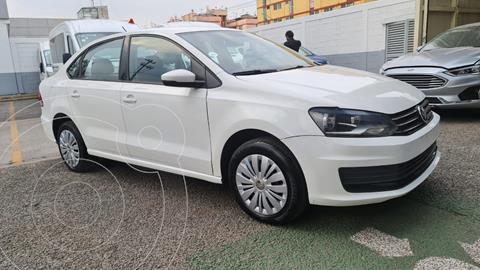 Volkswagen Vento Startline Aut usado (2018) color Blanco precio $152,000