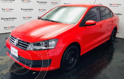 Volkswagen Vento Startline usado (2020) color Rojo financiado en mensualidades(enganche $47,000 mensualidades desde $5,110)