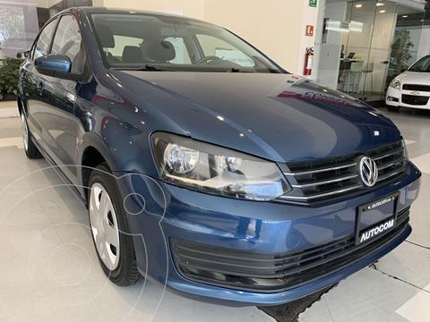 Volkswagen Vento Startline Aut usado (2018) color Azul Petroleo precio $141,000