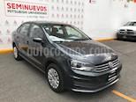 Foto venta Auto usado Volkswagen Vento Startline Aut (2017) color Gris Carbono precio $165,000