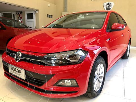 Volkswagen Virtus Comfortline 1.6 Aut usado (2019) color Rojo Tornado precio $1.649.000