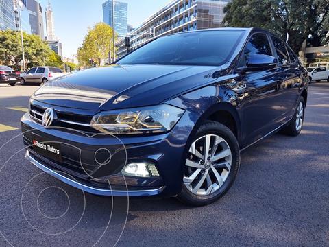 Volkswagen Virtus Highline 1.6 usado (2018) color Azul precio $1.850.000