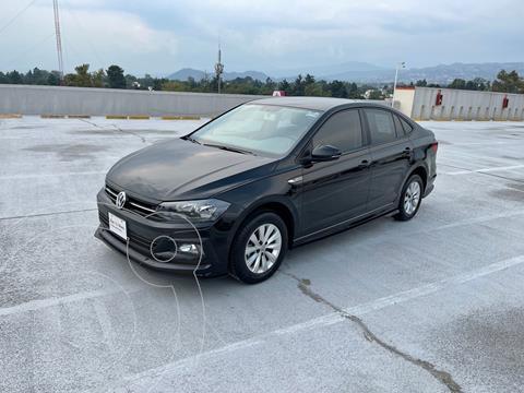 Volkswagen Virtus 1.6L usado (2020) color Negro precio $280,000