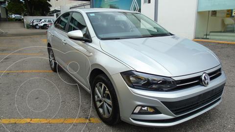 Volkswagen Virtus 4 pts. 1.6l, TM5, a/ac., RA-15 usado (2020) color Plata precio $259,000