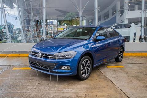 Volkswagen Virtus 1.6L L4  TIPTRONIC usado (2021) color Azul Biscay precio $309,990