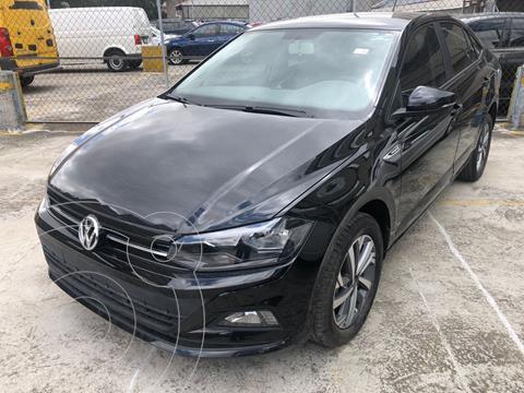 Volkswagen Virtus COMFORTLINE L4 1.6L 110HP FWD ABS BA AC TIP usado (2020) color Negro precio $310,000