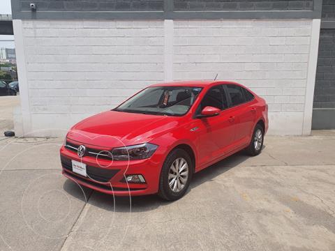 Volkswagen Virtus 1.6L usado (2020) color Rojo Tornado precio $255,000