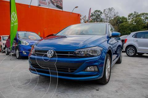 Volkswagen Virtus COMFORTLINE L4 1.6L 110HP FWD ABS BA AC TM usado (2020) color Azul precio $309,990