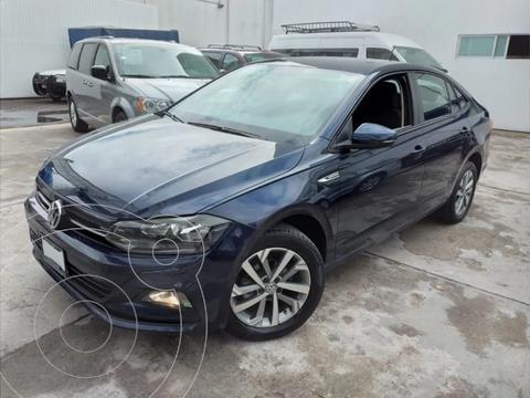 Volkswagen Virtus 1.6L usado (2020) color Azul precio $259,000