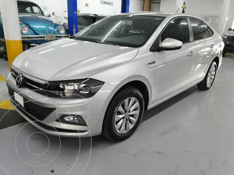 Volkswagen Virtus COMFORTLINE L4 1.6L 110HP FWD ABS BA AC TM usado (2020) color Plata precio $259,500